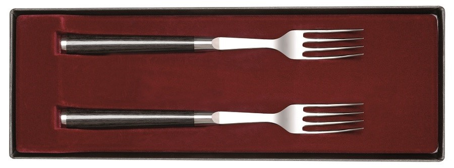 SET DE 2 FOURCHETTES DE TABLE KAI SHUN CLASSIC